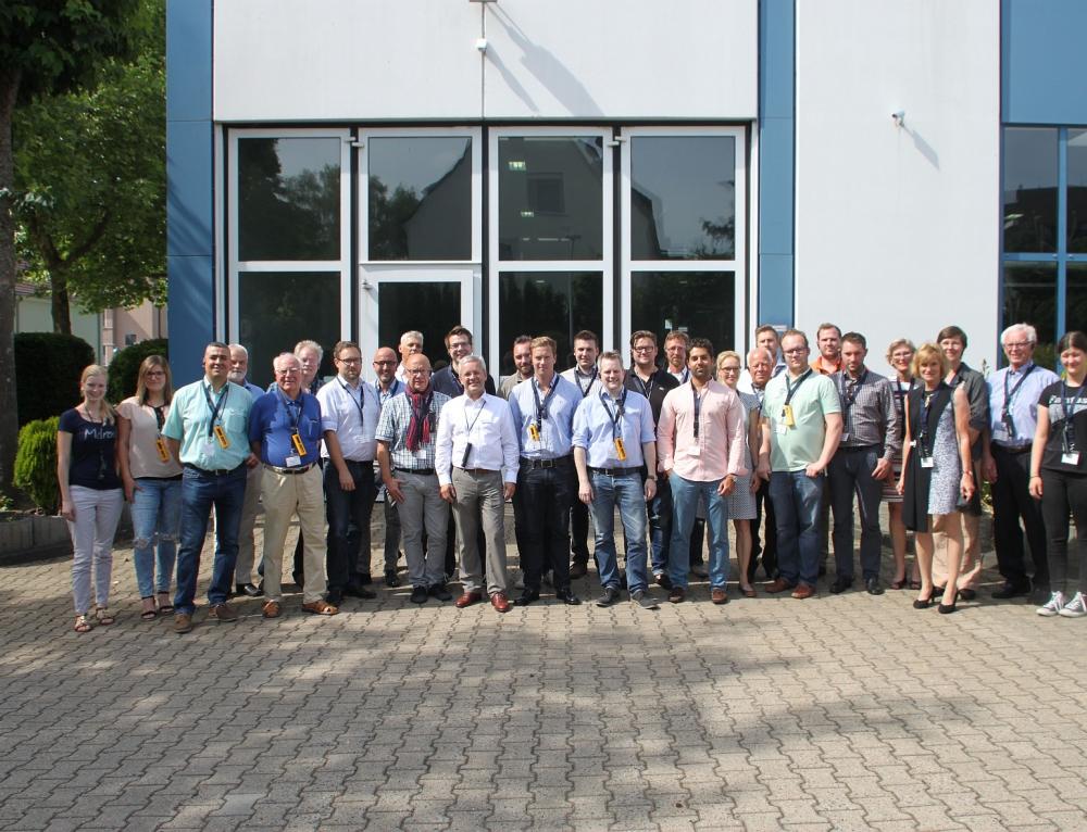 Wirtschaftsjunioren bei Schrauben Betzer GmbH & Co. KG