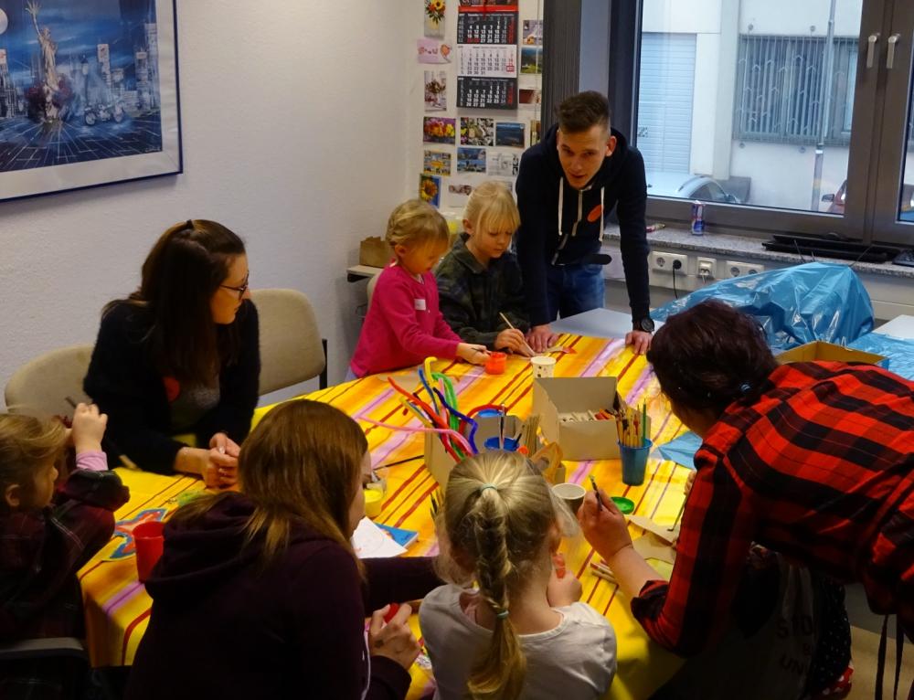 Kinderbetreuung beim Jahresempfang der Wirtschaftsjunioren Lüdenscheid