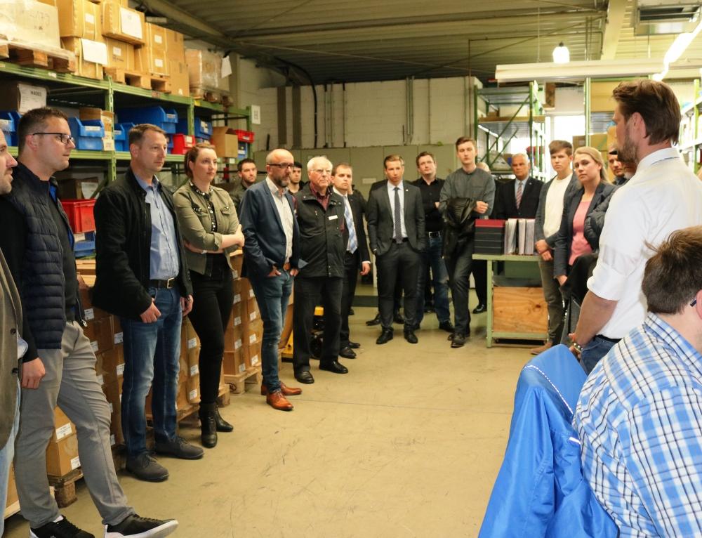 WJ Lüdenscheid: Betriebsbesichtigung bei der Alutronic Kühlkörper GmbH & Co. KG in Halver