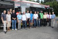WJ Lüdenscheid informieren sich bei der MVG über die Zukunft des öffentlichen Nahverkehrs