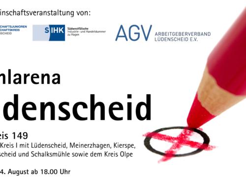Wahlarena Lüdenscheid am 24.08.2021